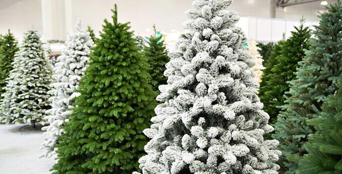 gama completa de árboles artificiales