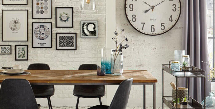 decoracion de pared para comedor