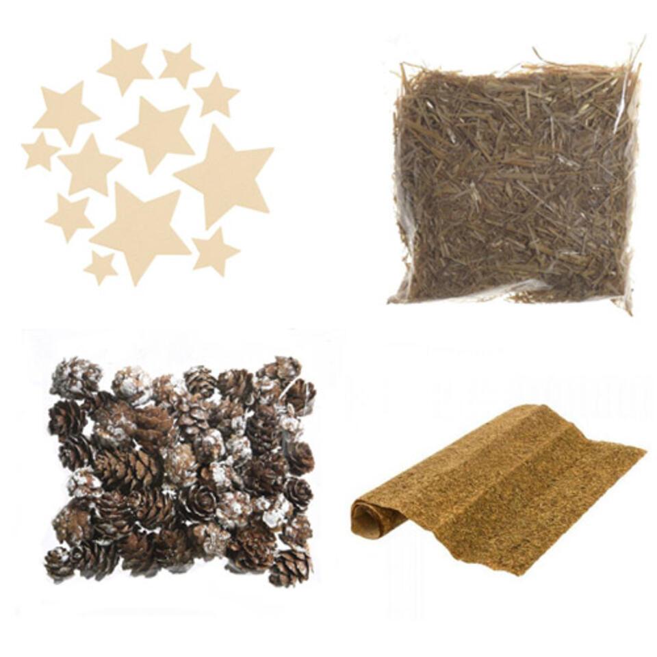 material para hacer un pesebre de navidad