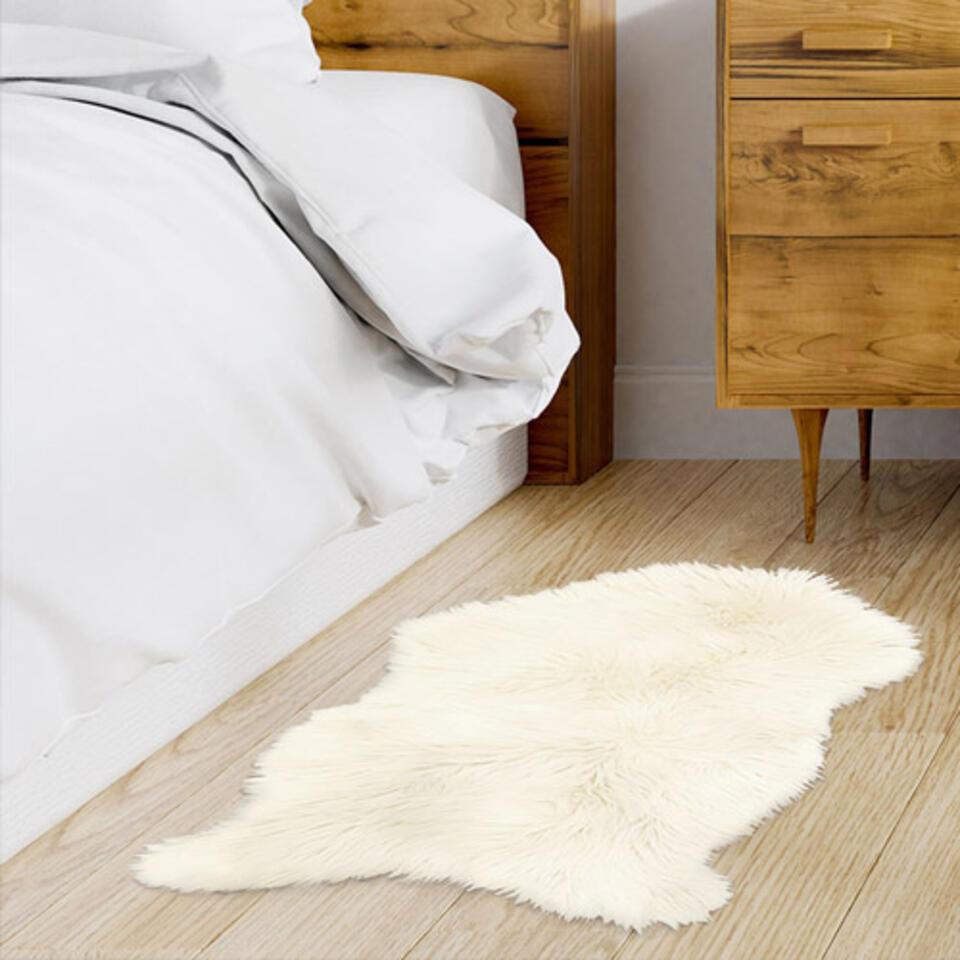 alfombra piel de oveja