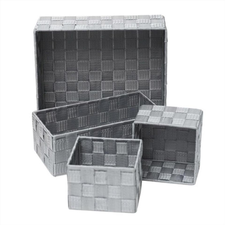 cestos para ordenar baño