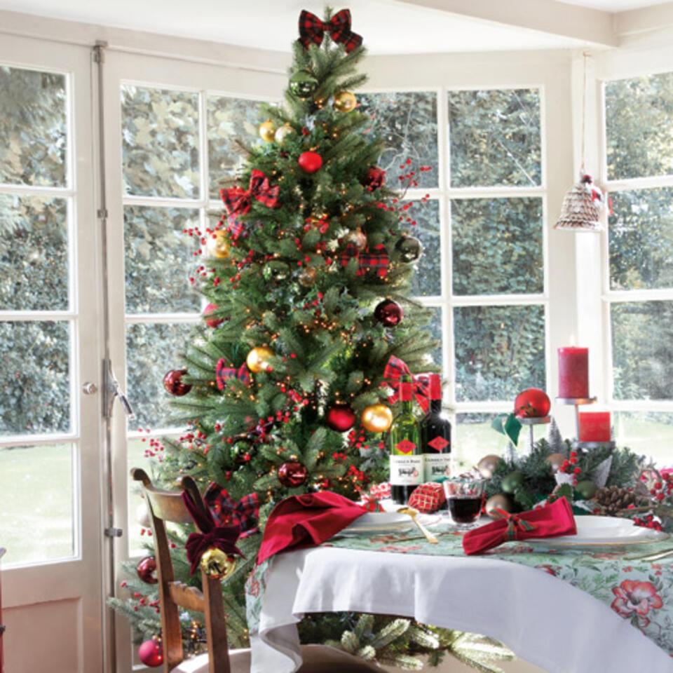 arbol de Navidad estilo tradicional