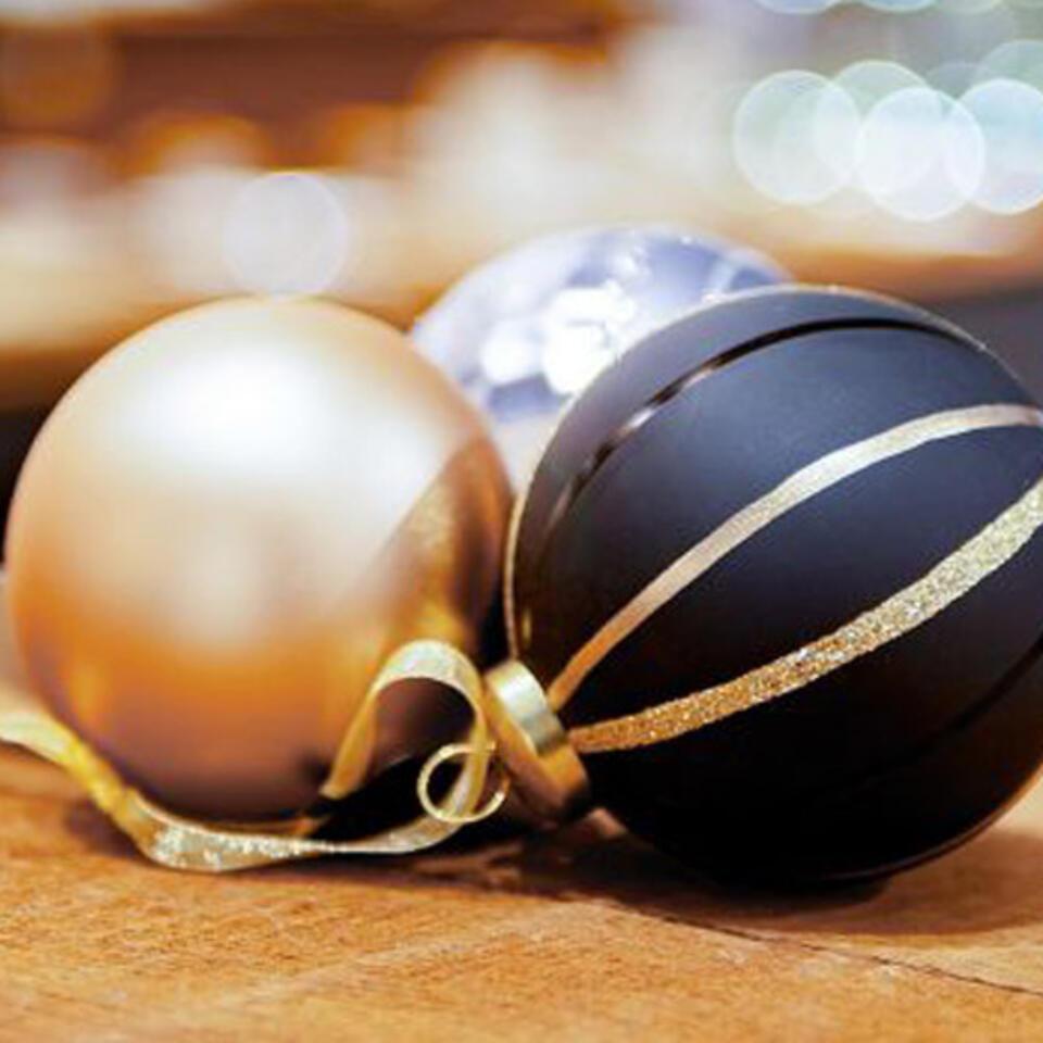 bolas de navidad modernas