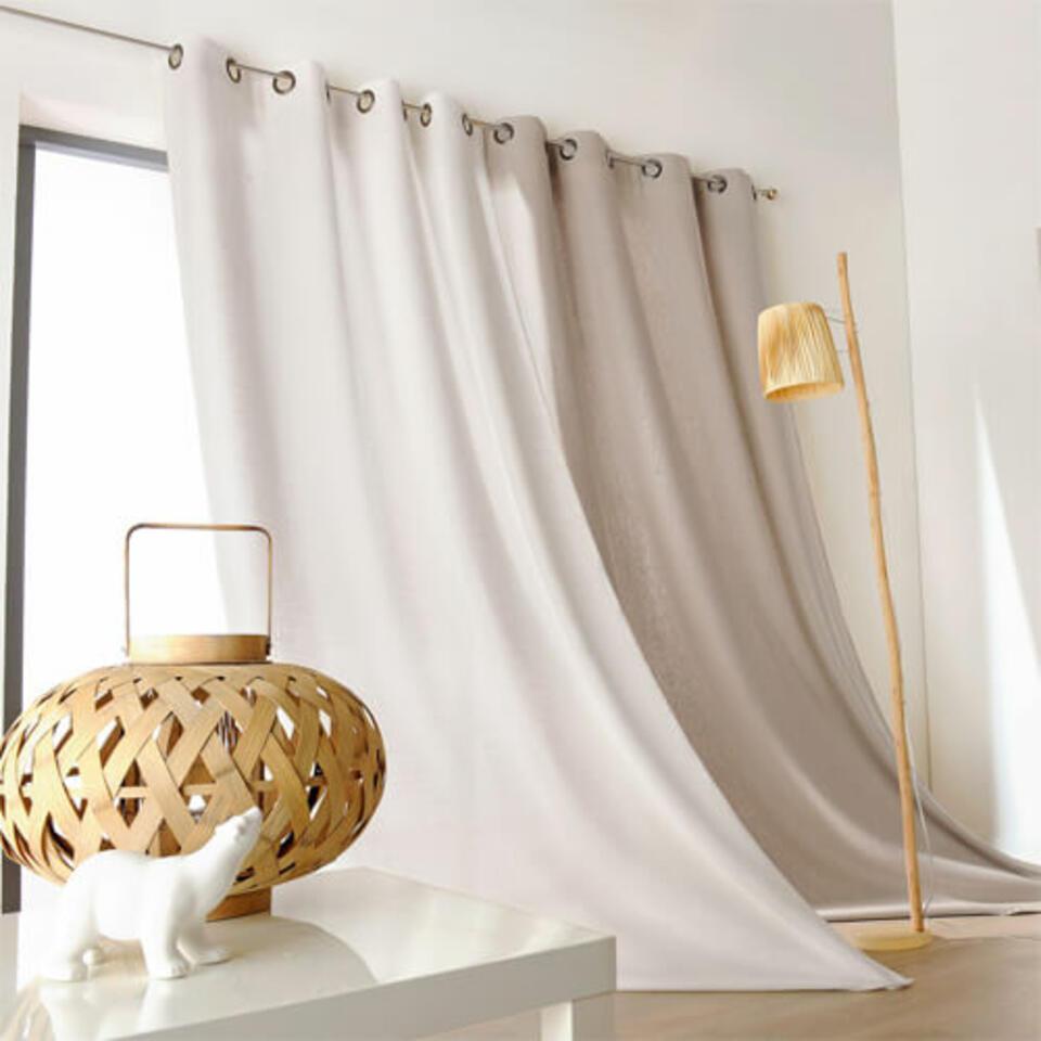 cortina de lino