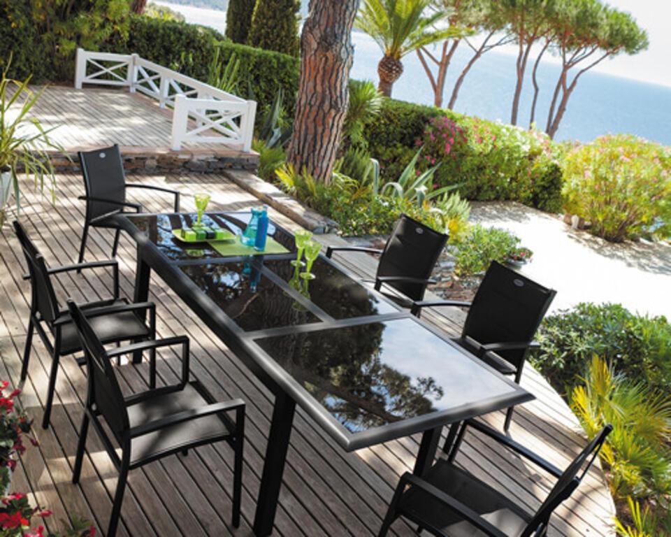 mesa de jardín 8 personas