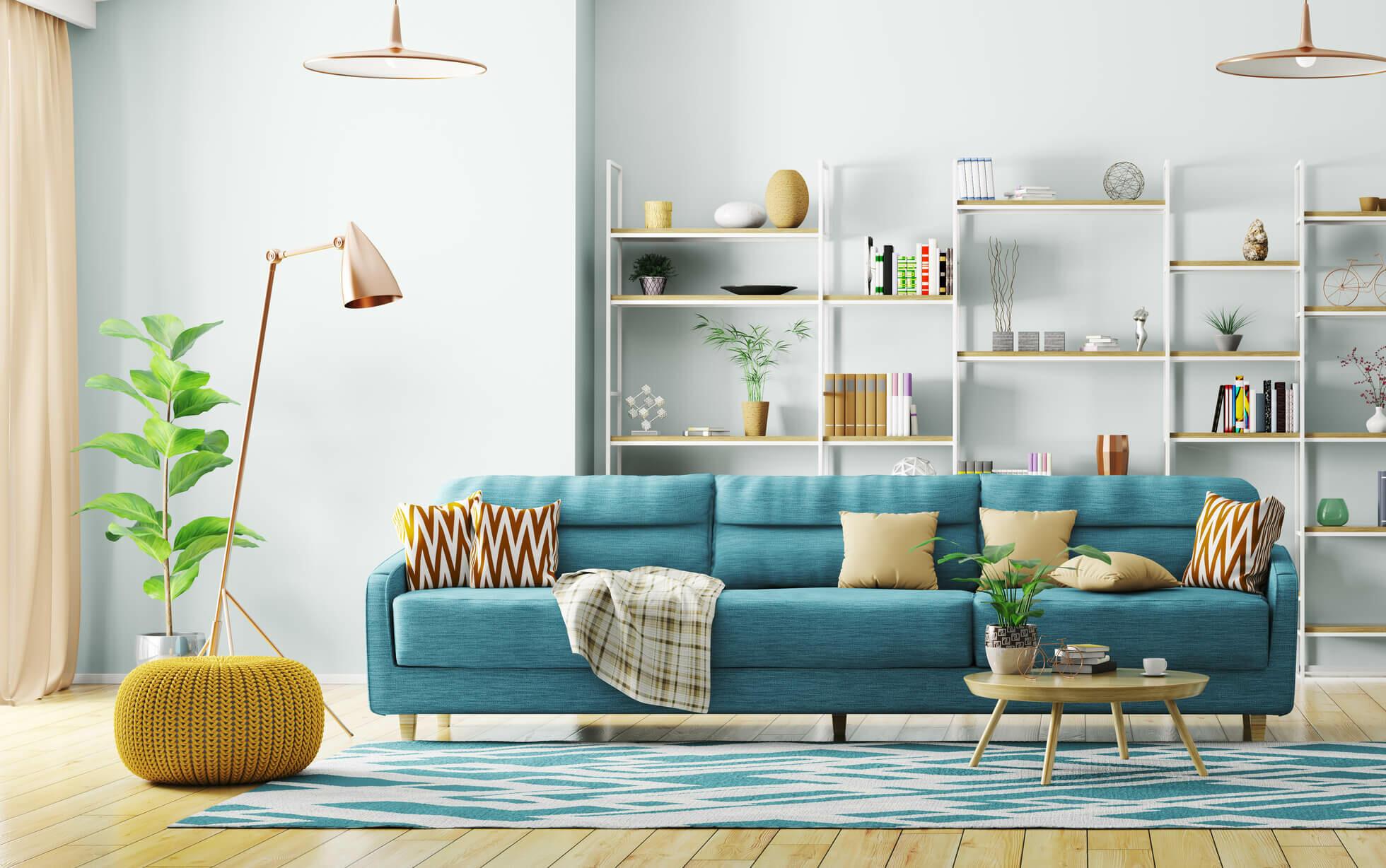 salón decoración moderna
