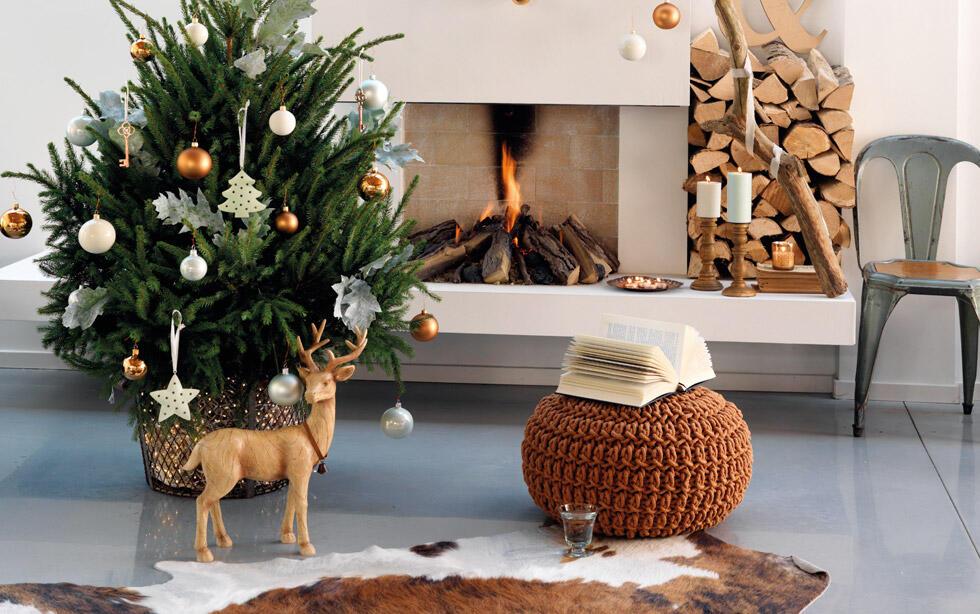 Árbol de Navidad, decoración moderna