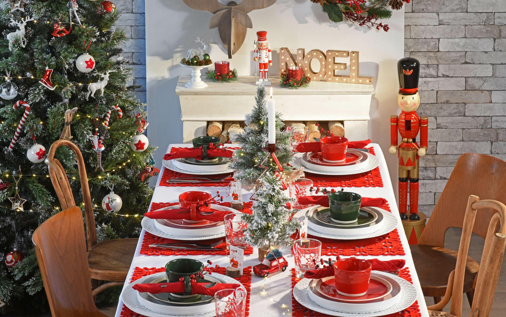 Ideas decoración mesa de Navidad