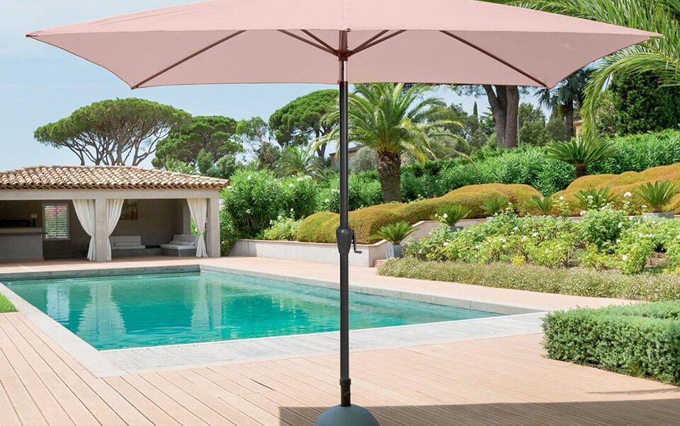parasol clásico beige