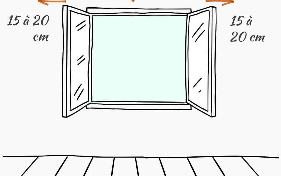 medidas para colocar cortinas