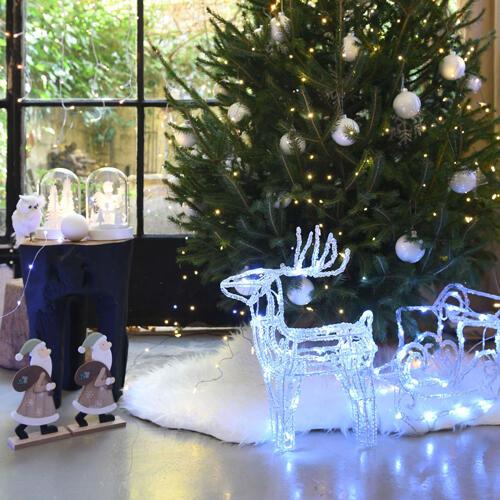 animales de navidad luminosos