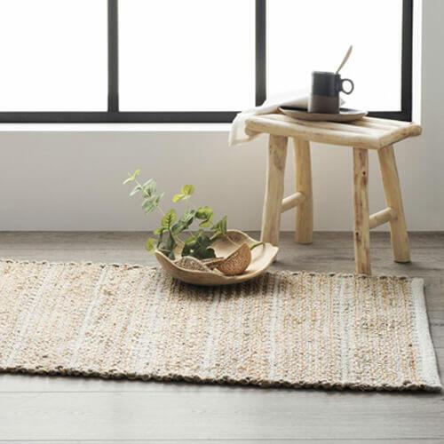 alfombra deco japandi