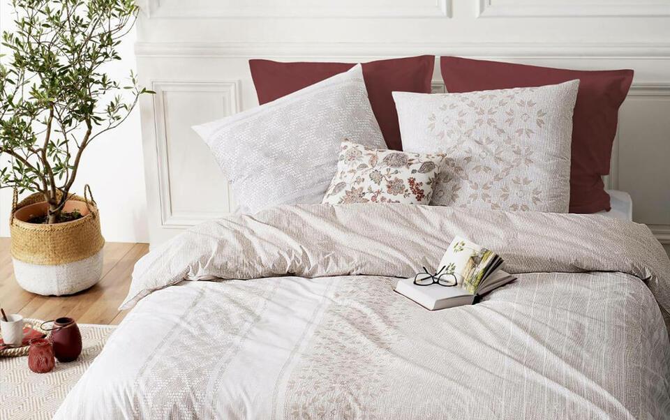 ropa de cama colorida