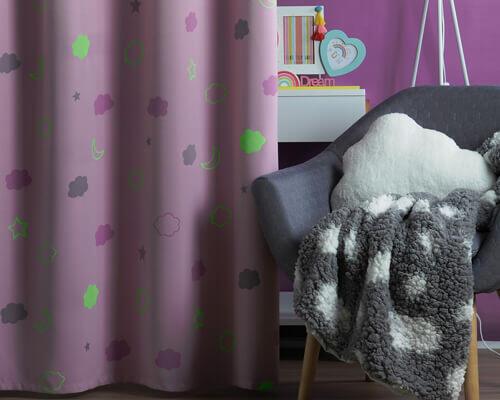 cortina infantil opaca